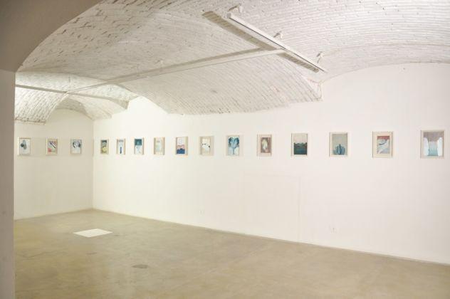 Elisa Bertaglia – Out of the Blue - exhibition view at Officine dell'Immagine, Milano 2016