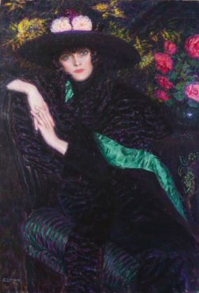 Enrico Lionne, Attesa, 1919 - Novara, Galleria d'Arte Moderna Paolo e Adele Giannoni