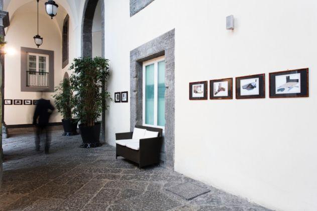 Eugenio Tibaldi - Studio sulle architetture minime - exhibition view at Palazzo Caracciolo, Napoli 2016 - photo Amedeo Benestante
