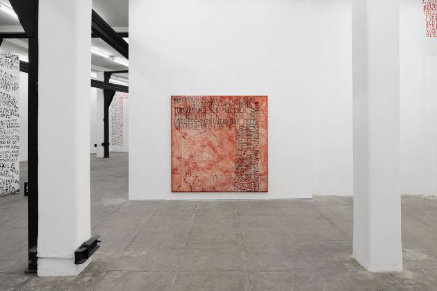 Fabian Herkenhoener, HEIM JUST, installation view at T293, Roma 2017. Courtesy of the Artist & T293. Photo Roberto Apa