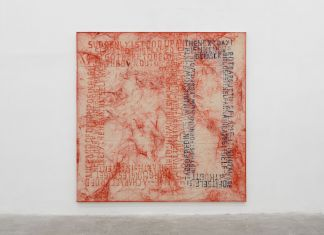 Fabian Herkenhoener, Untitled (Her veils...), 2016. Courtesy of the Artist & T293. Photo Roberto Apa