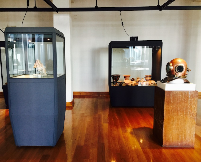 Fabrizio Cotognini – Is a Question of Time – exhibition view at Museo Archeologico Provinciale di Potenza, 2016