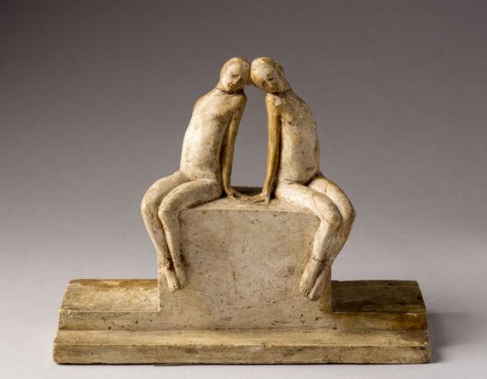 Felice Casorati, Bozzetto per fontana, 1914 - Torino, collezione privata