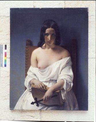 Francesco Hayez, La Meditazione (L'Italia del 1848), 1851 - Verona, Galleria d'Arte Moderna Achille Forti