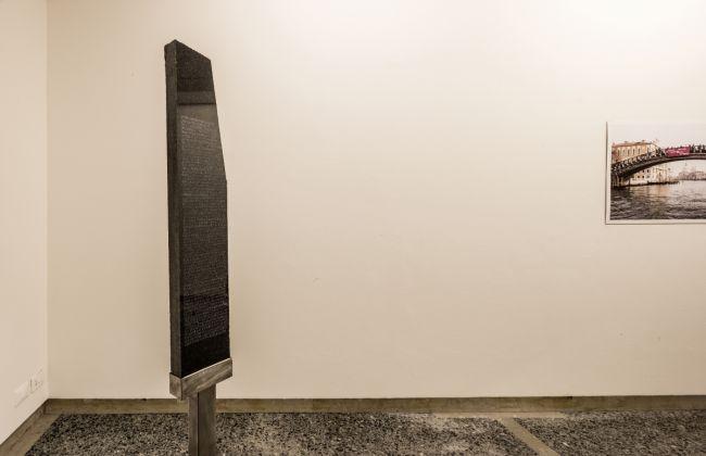Francesco Pozzato, Stele n. 92 di Wernicke, 2016, 100ma Collettiva Giovani Artisti, Fondazione Bevilacqua La Masa, Venezia, photo Giorgio Bombieri