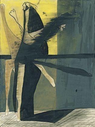 Francis Bacon, Composition (Figure), 1933 - Colección Abelló, Madrid - © The Estate of Francis Bacon - DACS-VEGAP, Bilbao, 2016