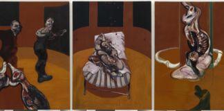 Francis Bacon, Three Studies for a Crucifixion, 1962 - Solomon R. Guggenheim Museum, New York - © The Estate of Francis Bacon - DACS-VEGAP, Bilbao, 2016