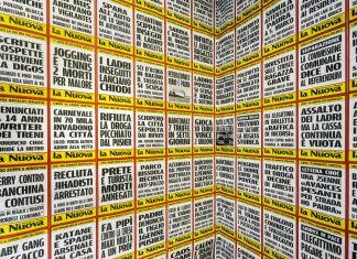 Gabriele Del Pin, Rapporto compulsivo con il quotidiano, 2015-2016, 100ma Collettiva Giovani Artisti, Fondazione Bevilacqua La Masa, Venezia, photo Giorgio Bombieri