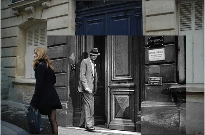 Gea Casolaro, Still here_Love in the afternoon - Rue Malebranche, 2009-2013, fotografia digitale su alluminio, 66x100x2 cm