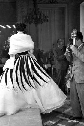 Gennaio 1952, Moda al Grand Hotel © Archivio Foto Locchi
