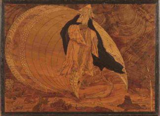 Gianfrancesco Capoferri (da disegno di Lorenzo Lotto), La Creazione, 1523 - Bergamo, Luogo Pio Colleoni