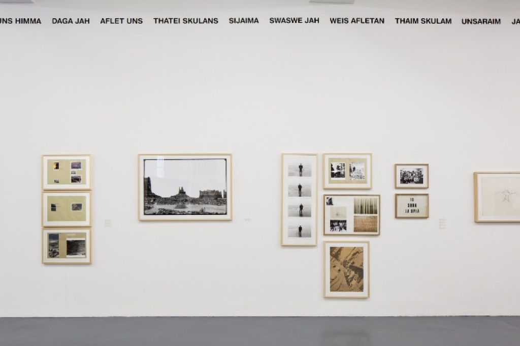 Gianni Pettena, About non Conscious Architecture. Exhibition view at Galleria Giovanni Bonelli, Milano 2017. Photo credits Laura Fantacuzzi