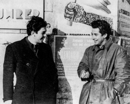 Gillo Pontecorvo con Enrico Berlinguer - Congresso del PCI, Milano novembre-dicembre 1945