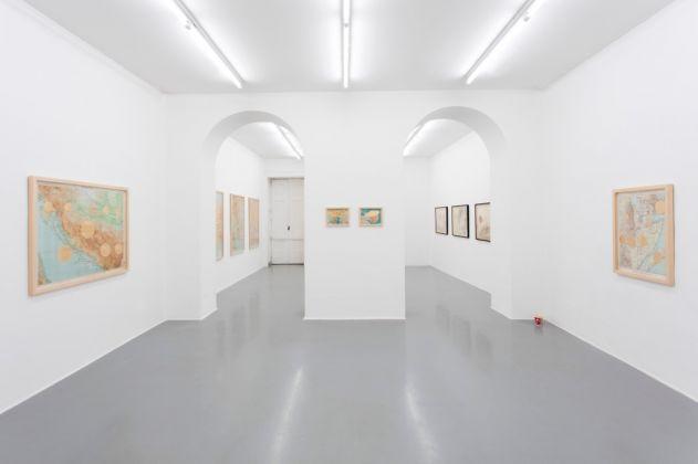 Giulia Piscitelli - Live the Dream - exhibition view at Galleria Fonti, Napoli 2016