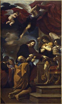 Guercino, La cattedra di San Pietro, 1618 - Cento, Pinacoteca Civica Il Guercino