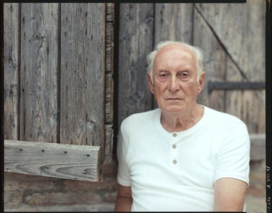 Guido Guidi, Ilario Fioravanti, 1998, courtesy l'artista