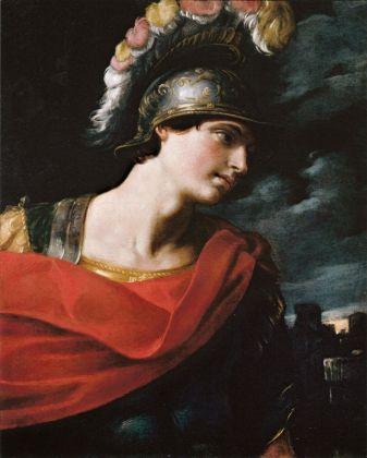 Guido Reni, Busto di guerriero (Enea), 1620-30, collezione privata