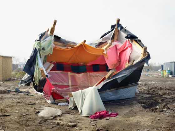 Henk Wildschut, Calais, France, marzo 2016 - Courtesy of the artist