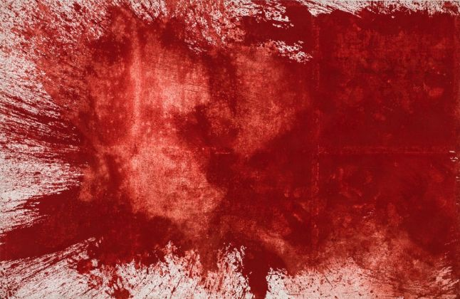 Hermann Nitsch, Solo colore, 1984, Mart