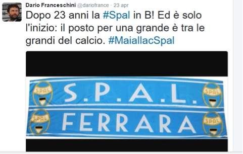 I tweet di Dario Franceschini
