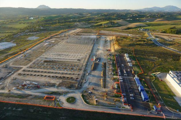 Il cantiere del nuovo centro logistico Amazon – Studio Zonetti