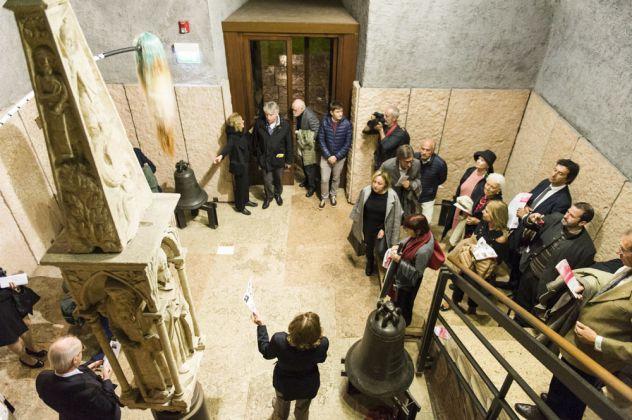 Il flauto magico. 12 collezionisti per una istituzione, Museo di Castelvecchio, Verona 2016. Photo Caterina Parona