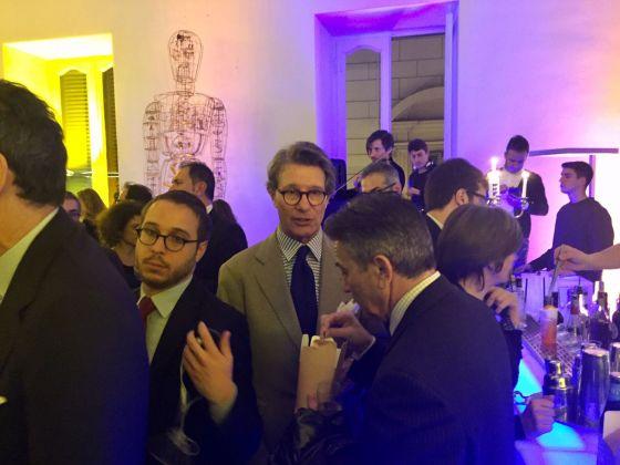 Inaugurazione Comin & Partners, Roma - Angelo Bucarelli