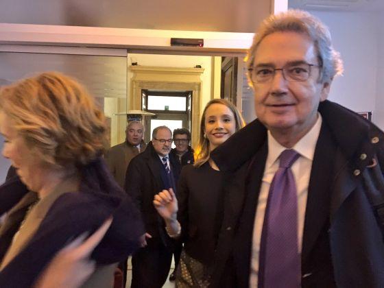 Inaugurazione Comin & Partners, Roma - Franco Bernabè