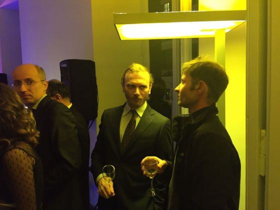 Inaugurazione Comin & Partners, Roma - Gabriele Gaspari, Alessandro Piangiamore
