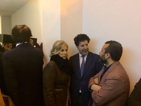 Inaugurazione Comin & Partners, Roma - Giovanna Melandri, Massimo Sterpi