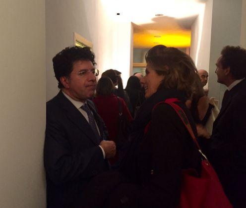 Inaugurazione Comin & Partners, Roma - Massimo Sterpi e Erica Ravenna Fiorentini