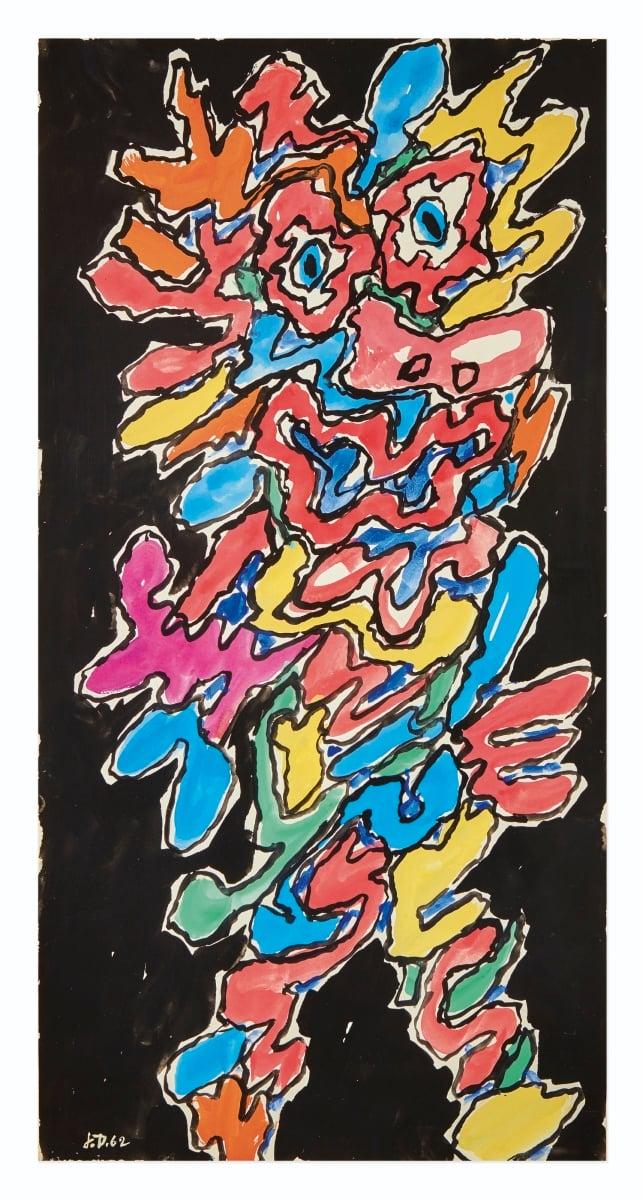 Jean Dubuffet, Personnage des Légendes, 1962 – courtesy Sotheby's