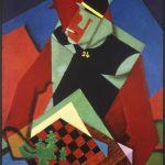 Jean Metzinger, Soldato che gioca a scacchi, 1915-16. Smart Museum of Art, University of Chicago