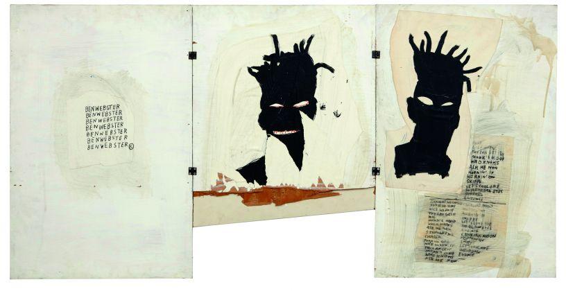 Jean-Michel Basquiat, Autoritratto, 1981