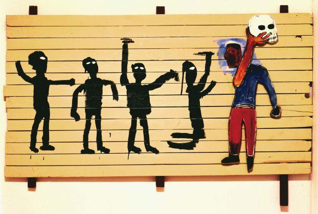 Jean-Michel Basquiat, Procession, 1986
