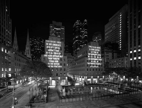 Jenny Holzer, New York 2005, 2005