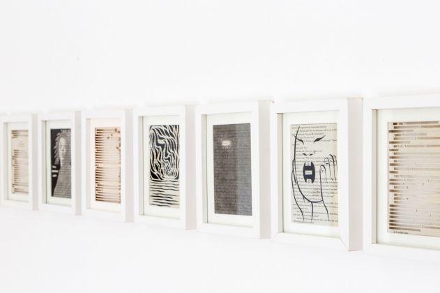 Jukhee Kwon, Cutting sketch, 2011-17