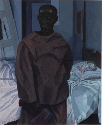 Kerry James Marshall, Portrait of Nat Turner with the Head of his Master, 2011 - Private collection, courtesy Segalot, New York - © Kerry James Marshall - Photo Bruce White
