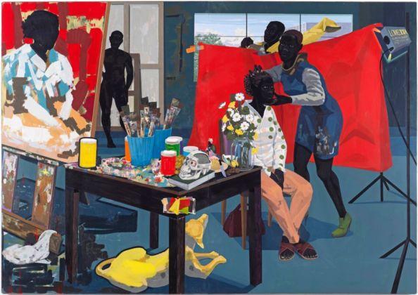 Kerry James Marshall, Untitled (Studio), 2014 - The Metropolitan Museum of Art - © Kerry James Marshall