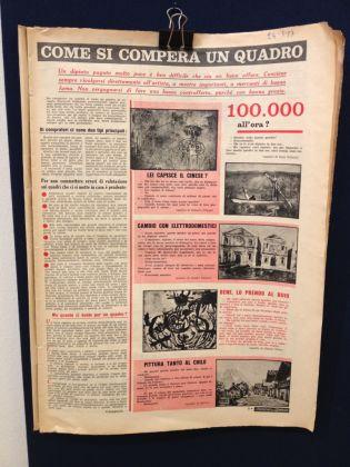 La Domenica del Corriere, 24 marzo 1957