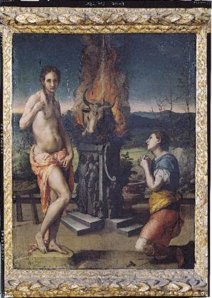 La Tutela Tricolore, Gallerie degli Uffizi, Firenze