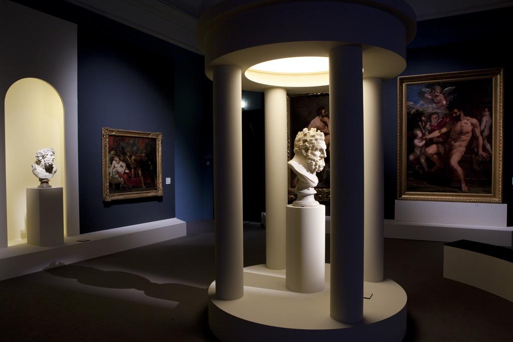 La forza del mito – installation view at Palazzo Reale, Milano 2016 – photo credit Elena Strada