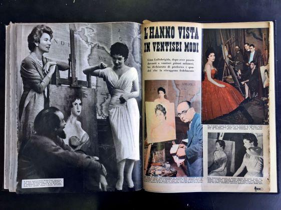 L'hanno vista in 26 modi, La Settimana Incom Illustrata, 1955