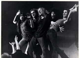 Living Theatre, foto di scena dall'Antigone di Bertolt Brecht, s.d., carte Living Theatre