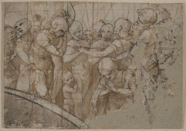 Lorenzo Lotto, Martirio di Santa Caterina, 1516-197 ca. - Venezia, Collezione privata