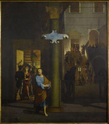 Lorenzo Lotto (_), San Pietro che piange, 1525-30 - Milano, collezione privata