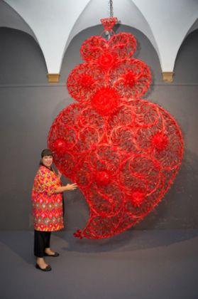 Love. Exhibition view at Chiostro del Bramante, Roma 2017. Photo © Giovanni De Angelis