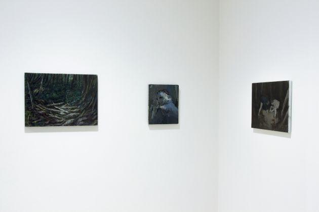 Luca De Angelis - Dropout, installation view at Auditorium Parco della Musica, Roma, 2016
