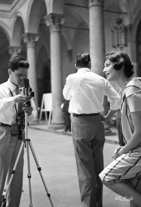 Luglio 1958, Moda a Palazzo Strozzi © Archivio Foto Locchi