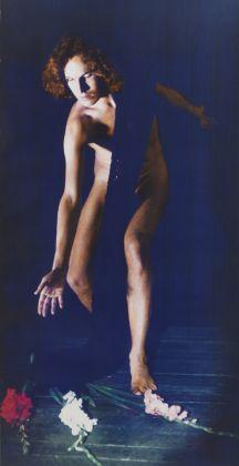 Luigi Ontani, 3 gladioli d'Adone tentazione, 1972, Mart